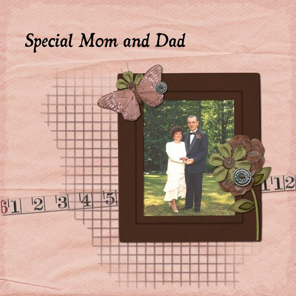 Special Mom and Dad