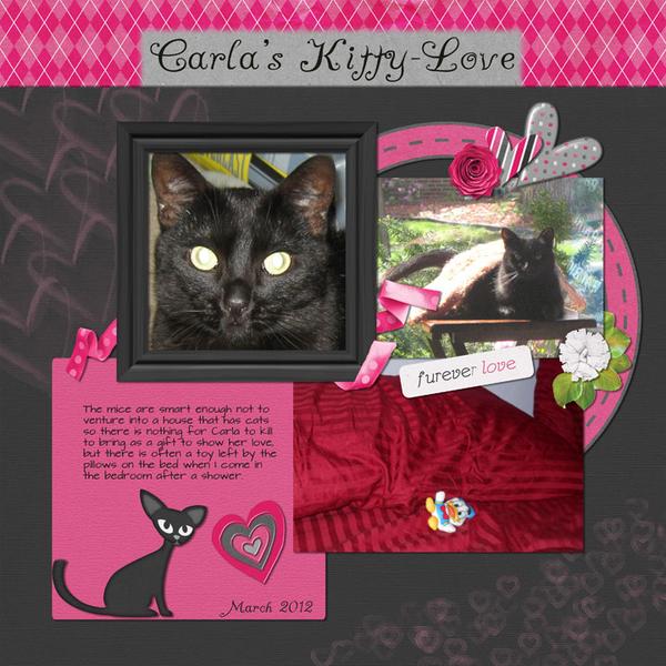 Carla's Kitty-Love