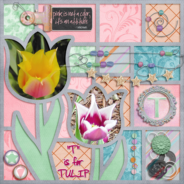T is for TULIP