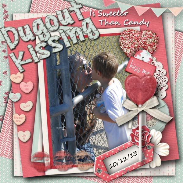 DugOut Kissing