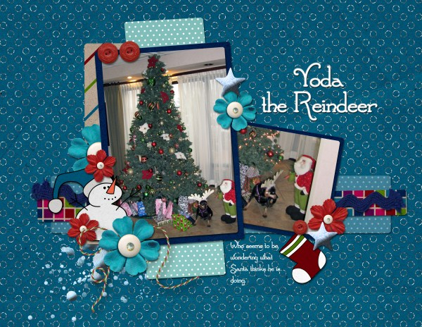 Yoda the Reindeer