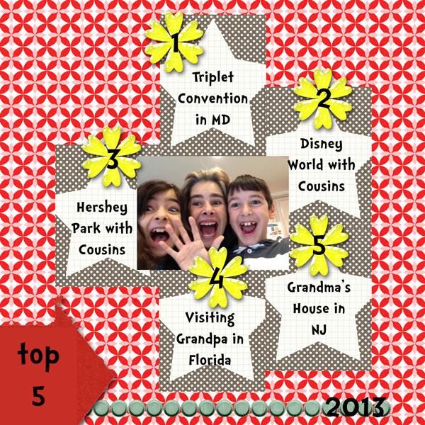 Top 5 - 2013