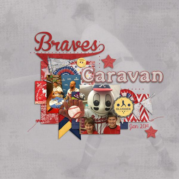Braves Caravan 2014