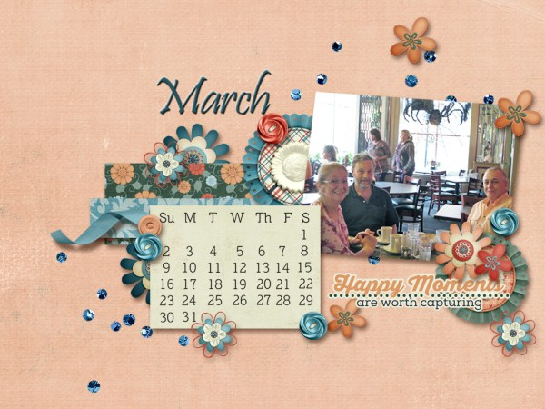 March Desktop