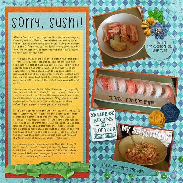 Sorry Sushi!