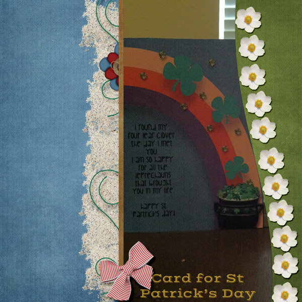 Card for St Patricks Day