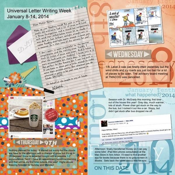 Random Week 2 Jan 8-14 page 1