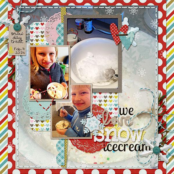 Snow Icecream