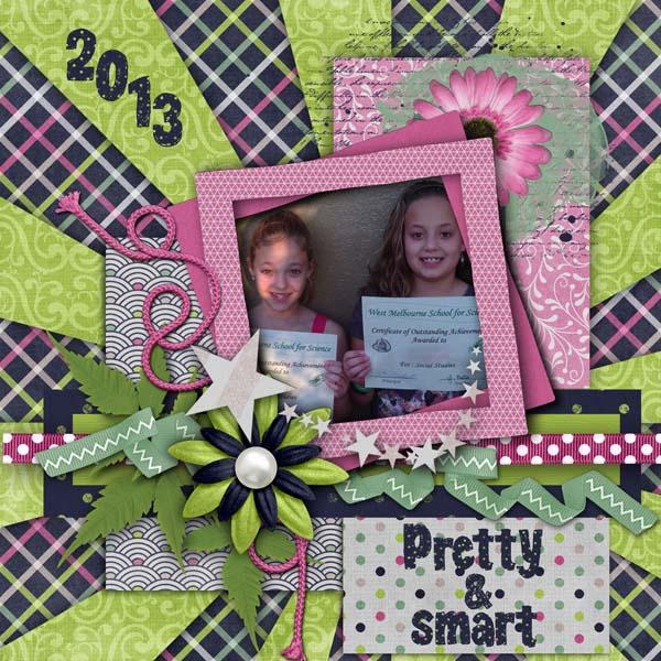 pretty and smart