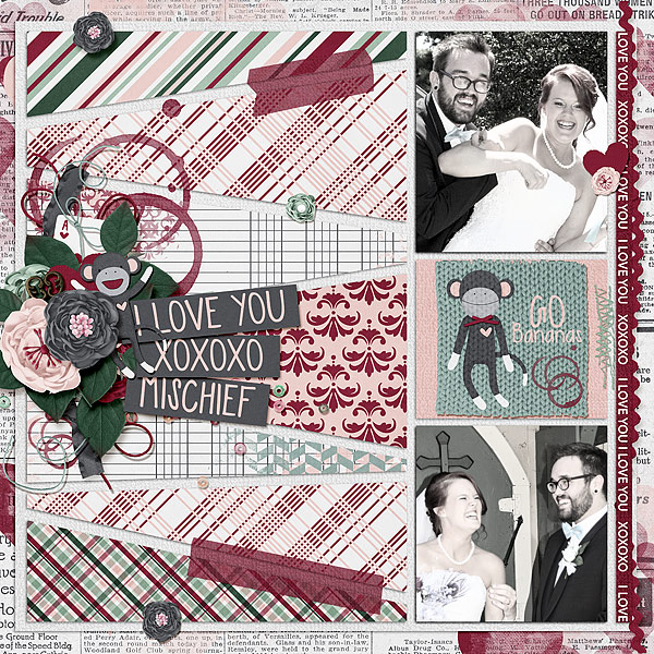 layout by bekfek using Cheeky Monkey