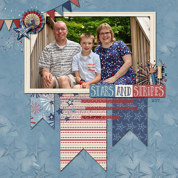 4th of July Family Photo