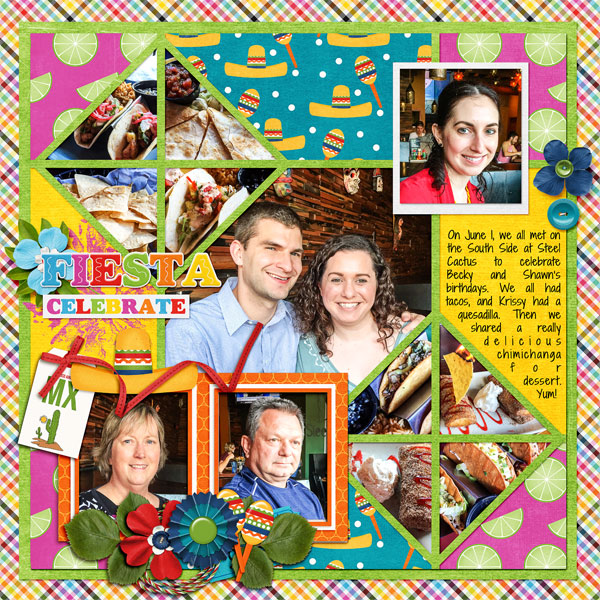 June 2017 Recipe Challenge - Becky & Shawn's Fiesta Birthdays