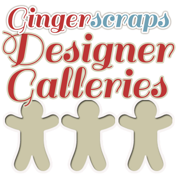 GingerScraps Designer Galleries