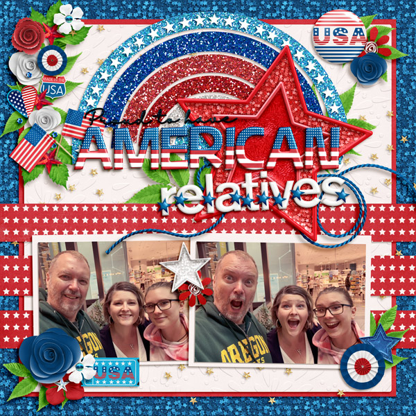 Proud to have American relatives