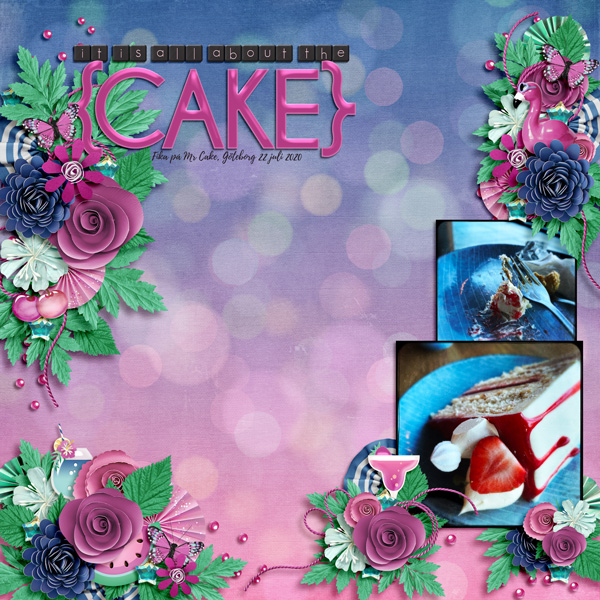 It is all about the cake