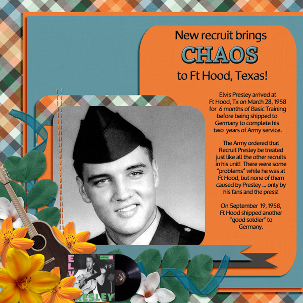 New recruit brings CHAOS to Ft Hood, Texas!