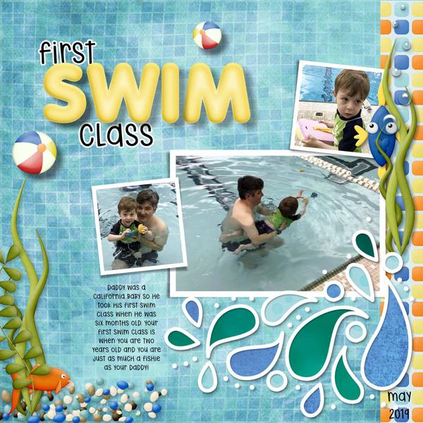 2019 05 Swim Class
