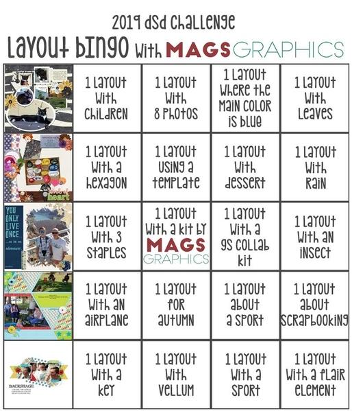 Layout Bingo