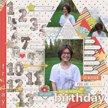 #13th birthday