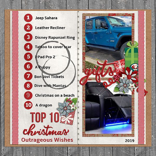 Top 10 Outrageous Christmas Wishes