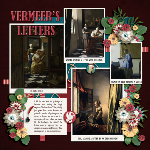 Vermeer's Letters