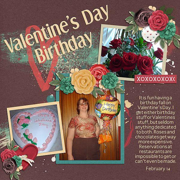 Valentines Day Birthday