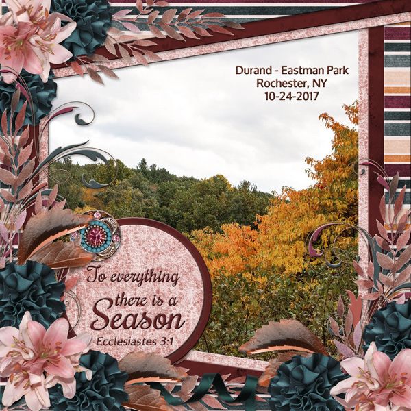 To everything there is a Season ...