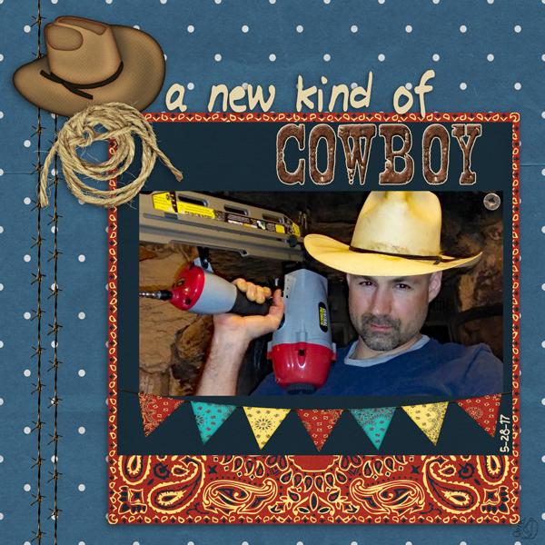 A new kind of cowboy
