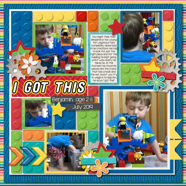 Benny Lego Builder 2019