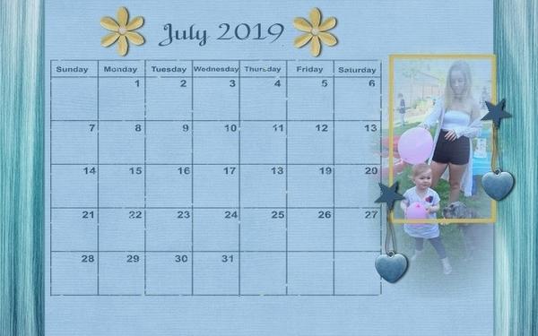 201907 Calendar