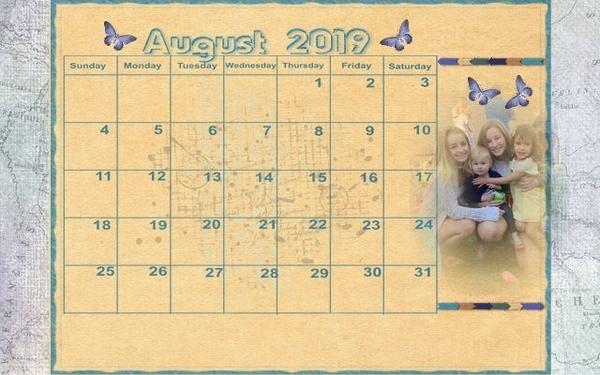 201908 Calendar