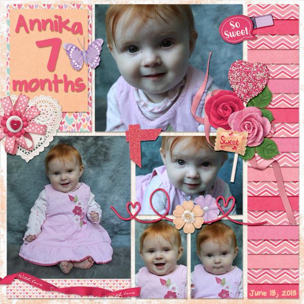 Annika - 7 months