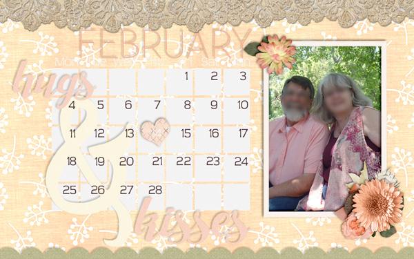 February desktop