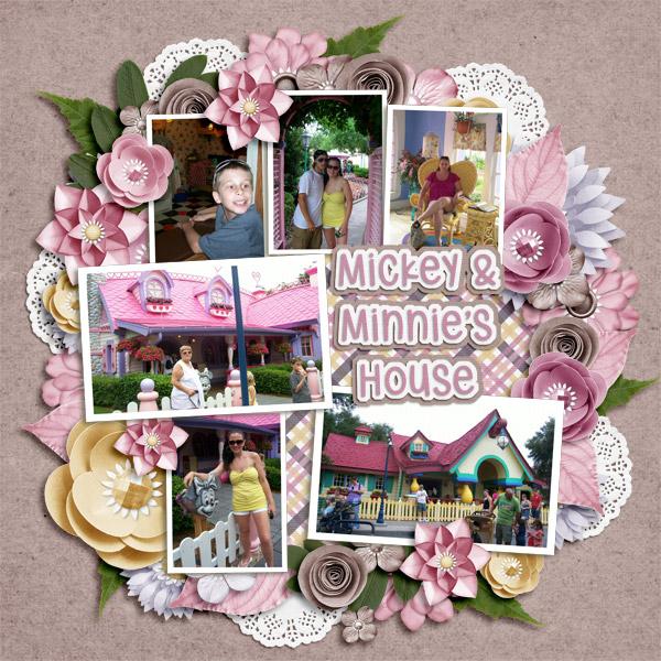 Mickey & Minnie's House