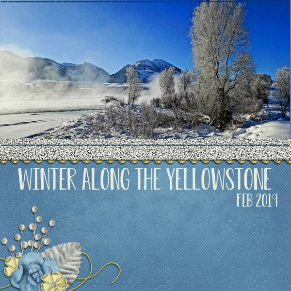 Winter Along the Yellowstone