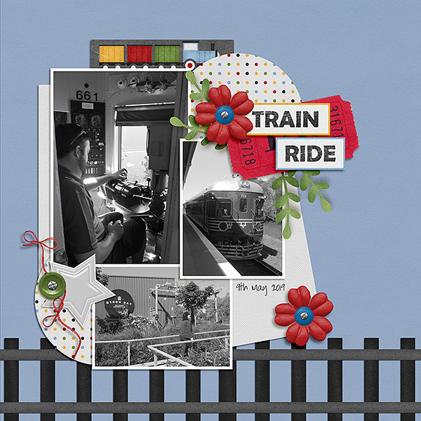 Train Ride - Left side
