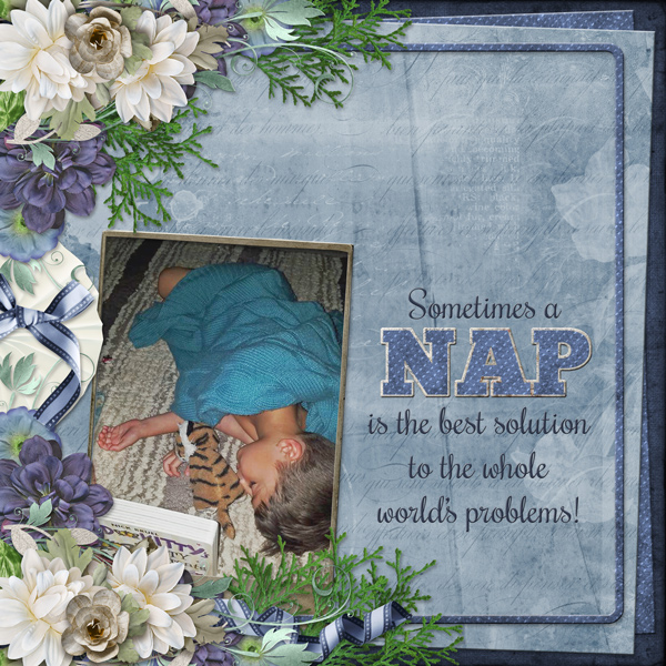 Sometimes a NAP is the best solution to the whole world