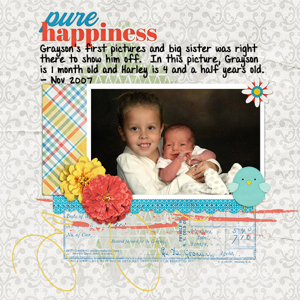 Pure Happiness - Mini Kit Challenge June 2020