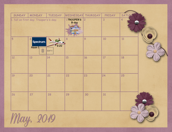 May Sum Up Calendar