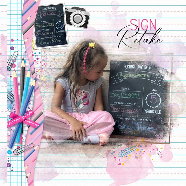 Sign Photo Retake