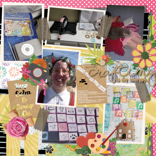 Craft On! Template Challenge 1 May 2019