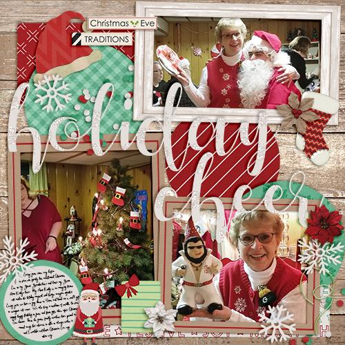 Xmas Eve Holiday Cheer