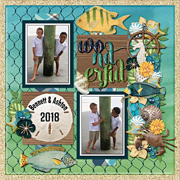 Ashton and Bennett vacation 2018