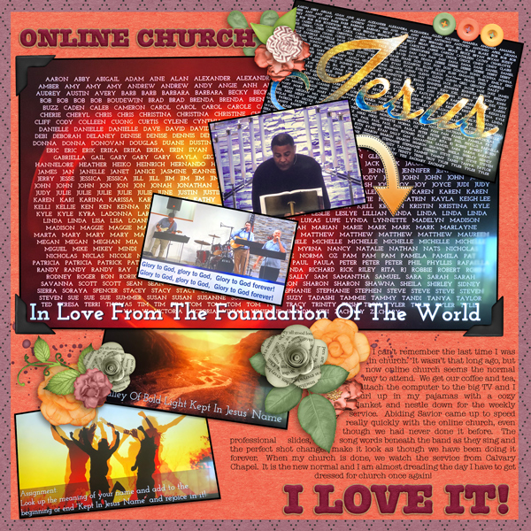 The New Normal - Online Church