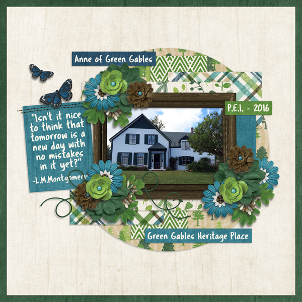 Week Three - Green Gables