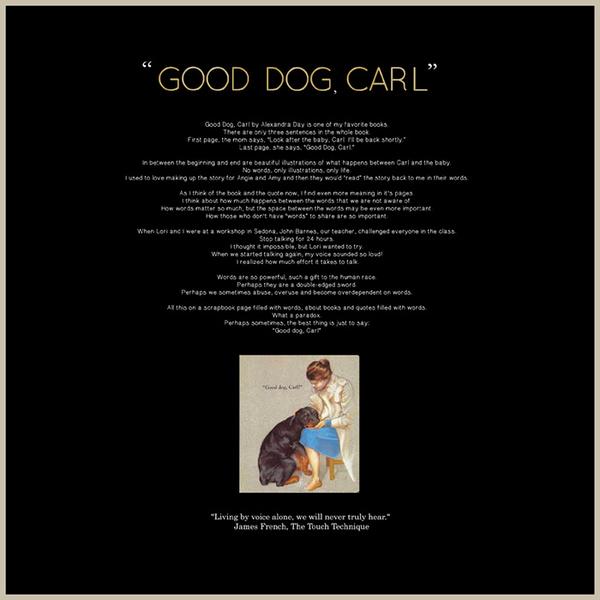 Brilliant Books Quote Good Dog Carl
