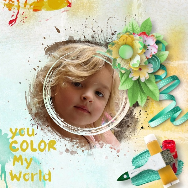 Color Your World Maya