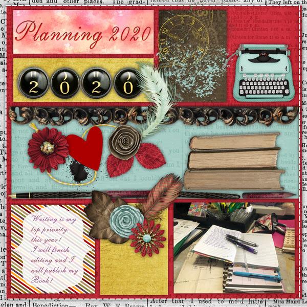 Organising My Planner