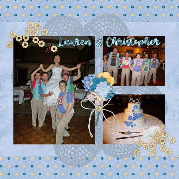 Christopher's wedding 1