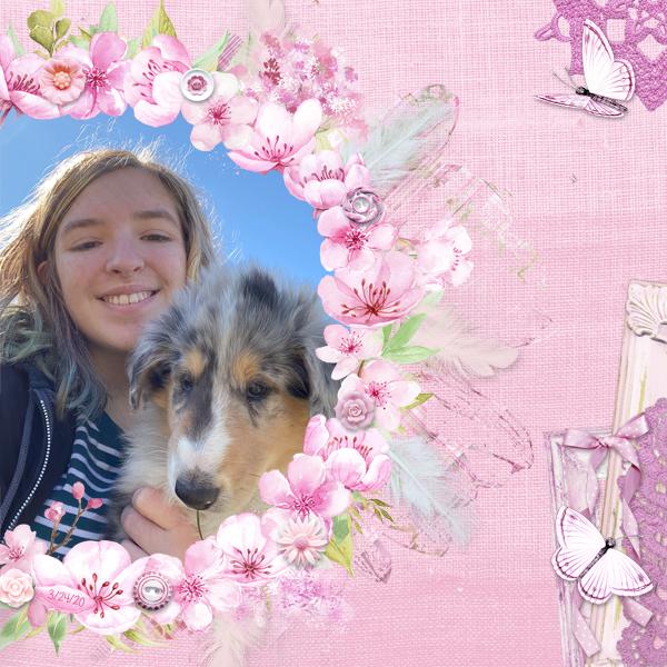Kadin & Puppy